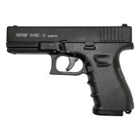 Пістолет стартовий Retay G19-C 9 мм / чорний